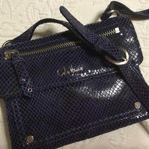 Cole Haan double flap crossbody purse